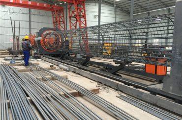Giá tốt nhất máy hàn lưới cuộn, Gia cố đường kính lồng thợ hàn đường kính 500-2000mm